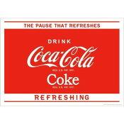 アメリカン雑貨★コカコーラ グッズ ポスター Coca-Cola The Pause-HS0486
