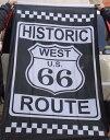 ルート66 アメリカン雑貨 ROUTE66 グッズ フラッグ 旗 HISTORIC タペストリー ポスター-LC0021