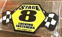 アメリカン雑貨 レーシングステッカー STAGE8 防水ステッカー シール デカール カー用品 バイク用品