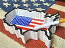 アメリカン雑貨★星条旗グッズ アメリカン アッシュトレイ 星条旗 灰皿 小物入れ-ST0008