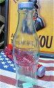 アメリカン雑貨 コカコーラ グッズ ボトル型 コインバンク クリア 貯金箱-ST0014
