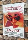 アメリカン雑貨★台紙付きポスター LOLITA ロリータ-LJ0021