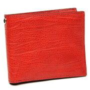 ゾンネ 財布 SONNE SOD003B RED 二つ折り財布 レッド