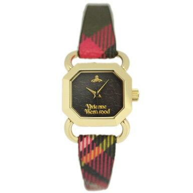 ヴィヴィアンウエストウッド 腕時計 レディース VIVIENNE WESTWOOD VV085BKBR RAVENSCOURT ウォッチ マルチカラーチェック/ゴールド VIVIENNE WESTWOOD ヴィヴィアンウエストウッド