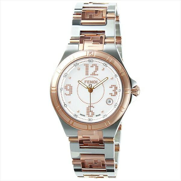 フェンディ 時計 レディース FENDI F463340 HIGHSPEED ウォッチ ホワイト