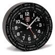 ルミノックス 時計 メンズ LUMINOX LWAC.B トラベル アラームクロック 置き時計 ウォッチ ブラック