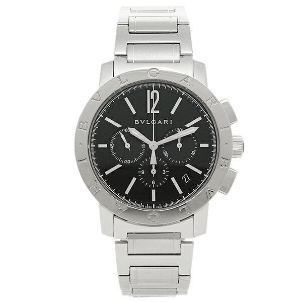 ブルガリ 時計 メンズ BVLGARI BB41BSSDCH ブルガリブルガリ 腕時計 ウォッチ シルバー/ブラック