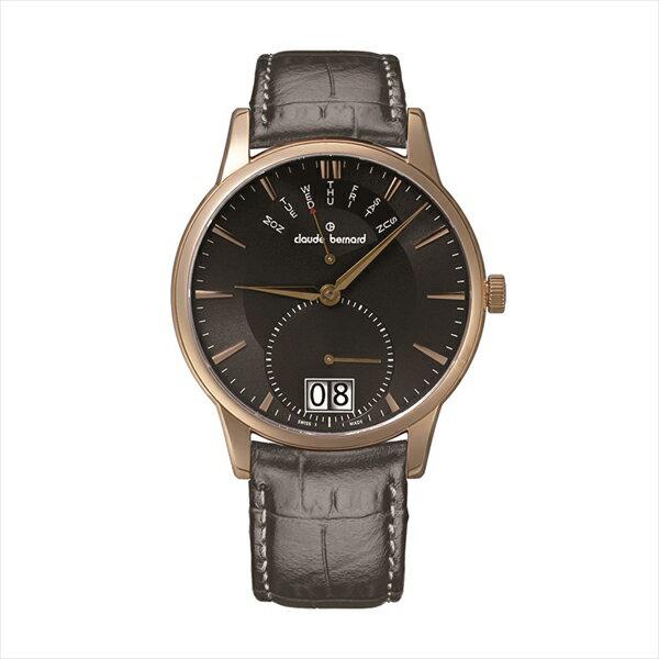 1andone rakuten global market クロードベルナール 時計 メンズ claude bernard 3400437rgir classic bigdate 腕時計