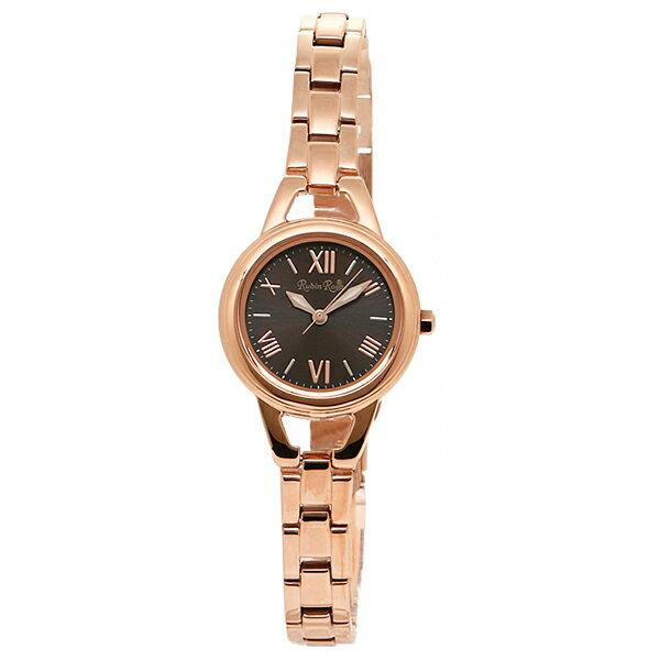 ルビンローザ 時計 レディース Rubin Rosa R016SOLPBR ソーラー 腕時計 ウォッチ ライトピンク/ブラウン ルビンローザ 時計 Rubin Rosa レディース ウォッチ