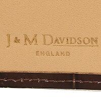ジェイアンドエムデヴィッドソン財布J&MDAVIDSON10013726751WALLETWCOINCASEMOCKCROCK2つ折り財布WINE