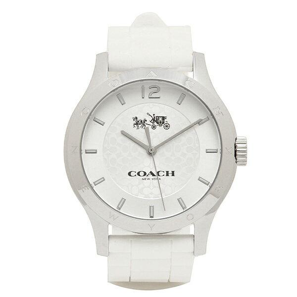 コーチ 時計 レディース アウトレット COACH W6033 WHT MADDY マディ 腕時計 ウォッチ シルバー/ホワイト