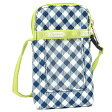 レスポートサック ポーチ LESPORTSAC 3269 D374 MIRANDA BAG LIME GINGHAM