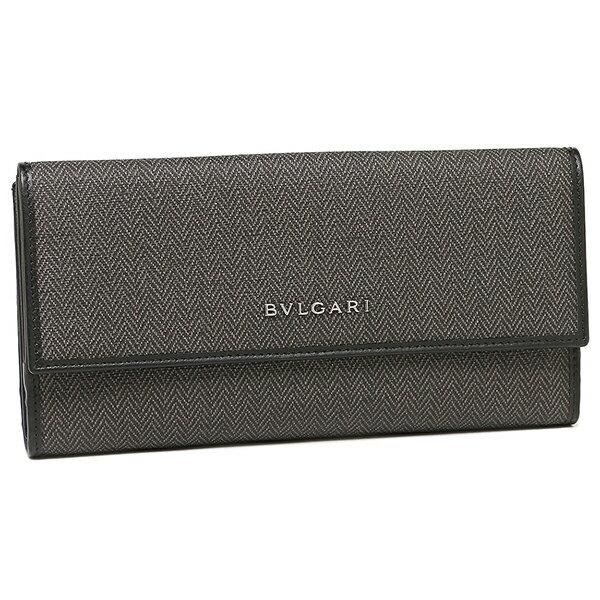ブルガリ 長財布 レディース BVLGARI 32589 WEEKEND ブラック