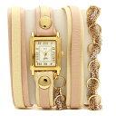 LA MER COLLECTIONS 腕時計 レディース ラメール コレクションズ LMSCW6004-BB ピンク ゴールド ホワイト