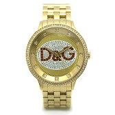 D&G ディーアンドジー DW0379 PRIMETIME プライムタイム シルバー/ゴールド メンズウォッチ/腕時計