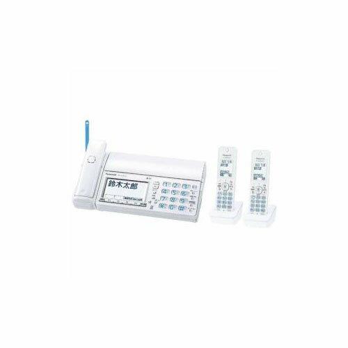 【ポイント20倍】Panasonic デジタルコードレス普通紙FAX 「おたっくす」 (子機2台付き) ホワイト KX-PZ710DW-W