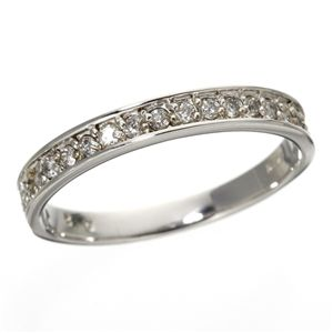 【ポイント最大35倍】0.2ct ダイヤリング 指輪 エタニティリング 9号 0.2カラット ダイヤモンドリング