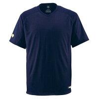 【マラソンでポイント最大43倍】デサント(DESCENTE) ジュニアベースボールシャツ(Vネック) (野球) JDB202 Dネイビー 160の画像