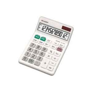 【イーグルスでポイント最大43倍】(業務用30セット) シャープ SHARP 電卓 12桁 EL-N432X