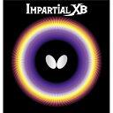 【ポイント20倍】バタフライ(Butterfly) 表ラバー IMPARTIAL XB(インパーシャルXB) 00410 レッド TA