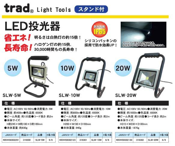 trad LED投光器 防水/屋外用/省エネ/...の紹介画像2