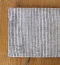 fog linen work(フォグ) リネンプレイスマット グレーホワイトストライプ *メール便可能