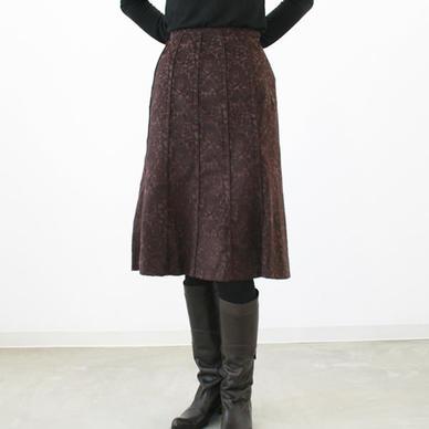コットンジャガードパイピング skirt women's clothing fashion women's translation and sale outlet fs3gm