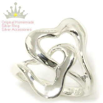 【MAHO】Sterling Silver Heart Ring