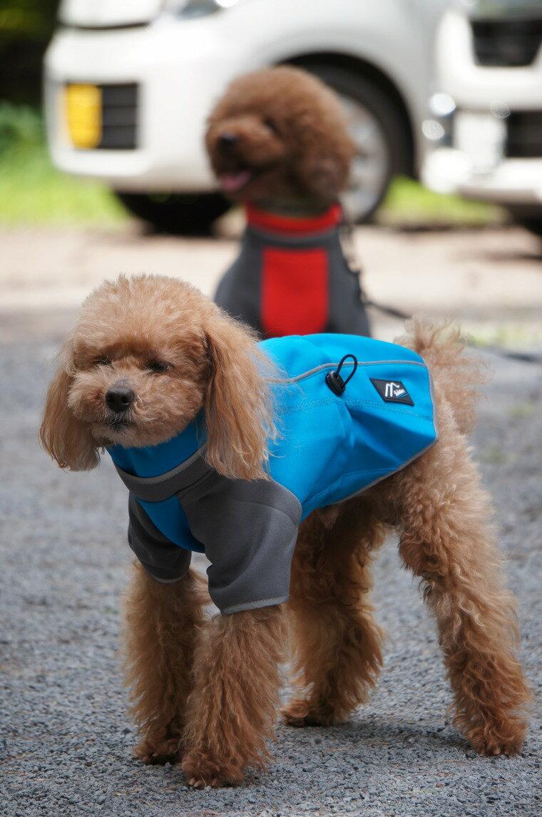 [Hakusan]オリジナルドッグジャケット【マウンテンウォーマー】中・大型犬用サイズ