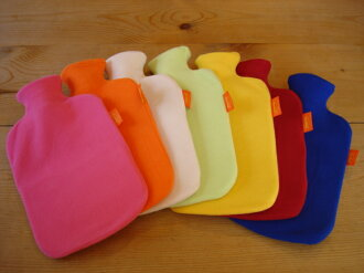 Germany, masumoto (fashy) Inc. fleece hot water bottle. In ecology warm gently in the body.