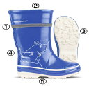 【ノキアン】フィンランド発・レインブーツ Nokian Footwear Moominコラボ ムーミン ラバーブーツ 長靴