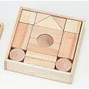 木の仲間達2段(31ピース) 【知育玩具】【木製玩具】【つみき】【国産トイ】【日本製】