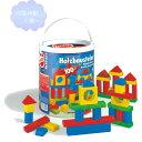 筒入積み木100P 【知育玩具】【木製玩具】【ブロック遊び】【ハーマンロスバーグ】