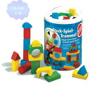 筒入積み木(パズル) 30P 【知育玩具】【木製玩具】【ブロック遊び】【ハーマンロスバーグ】