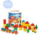 筒入まち(小) 【知育玩具】【木製玩具】【ブロック遊び】【ハーマンロスバーグ】
