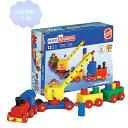 クレーン列車 【知育玩具】【木製玩具】【ブロック遊び】【ハーマンロスバーグ】
