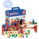 大工道具セット(中) 【知育玩具】【木製玩具】【ブロック遊び】【ハーマンロスバーグ】