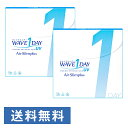 WAVEワンデー UV エアスリム plus ×2箱セット WAVE コンタクト コンタクトレンズ クリア 1day ワンデー 使い捨て ソフト 送料無料 ウェイブ 超薄型 低含水 非イオン性 UVカット機能付き