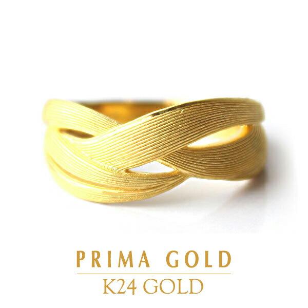 純金 指輪 リング レディース 女性 イエローゴ...の商品画像