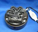 【茶道具】ヤマキ電気炭「嬉楽」五徳なし風炉用炭型ヒーター