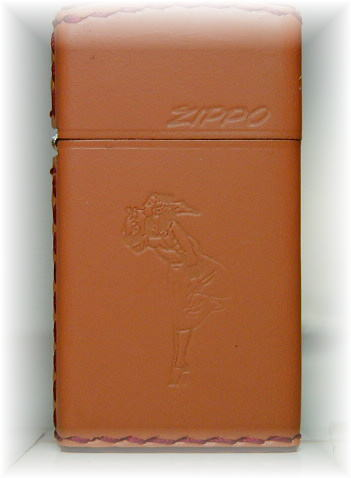 ZIPPO lighter armor Zippo lighter slim: leather 1600 c-gl Zippo Zippo lighters ZIPPOlighter lighter writer-Zippo-slim