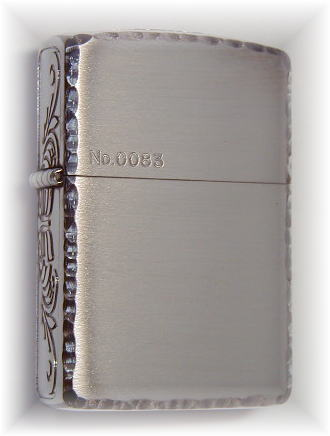 Zippo Zippo lighters Zippo lighter luxury goods: cross-heart designs 162p-3ss ZIPPO Zippo armour (ARMOR)