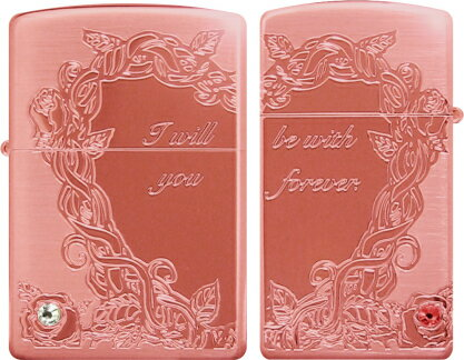 "_RT] _RT] luxury goods lighter zippo (Zippo): cross-heart design Zippo lighters ペアローズ PK? s stamp-friendly""regular & slim Zippo"