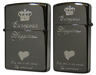 _RT] Zippo ( Zippo ) zippo lighter metal sculpture heart series pair Zippo lighters ハッピーコインペア HZ-BN? s stamp-friendly.""