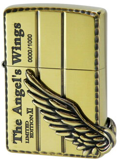 ZIPPO lighter Zippo lighter metal sculpture world 1000 pieces limited edition angel wing PAW-111BI