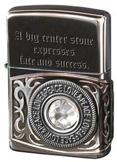 Zippo Zippo lighter metal, carving messages Swarovski ORING-BN inside every moment applied zippo