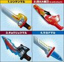 ショッピングシンケンジャー バンダイ シンケンジャーエアウエポンズ全4種フルコンプ!!