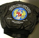 TEDMAN&amp;#39;S Ted man flight jacket TMA-260 black / TED COMPANY