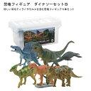 フェバリット 恐竜フィギュア ダイナソーセットB/ソフトモデル(FDW-102)