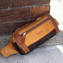 ペニッシュミント / インセプション 【 BA-1321 】 ウエストバッグ ウエストポーチ グローブレザー 牛革 革鞄